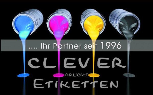 20 Jahre Clever Etiketten