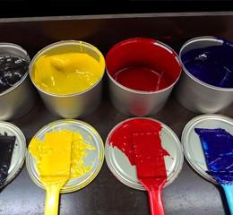 Etiketten Farben