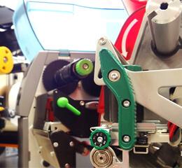 Etikettendrucker Nahaufnahme klein
