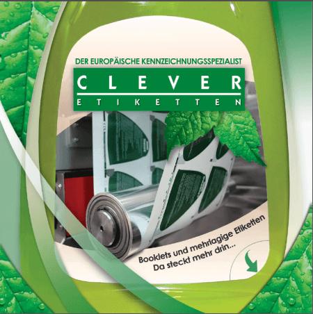 Clever Etiketten Booklet Katalog Vorschau