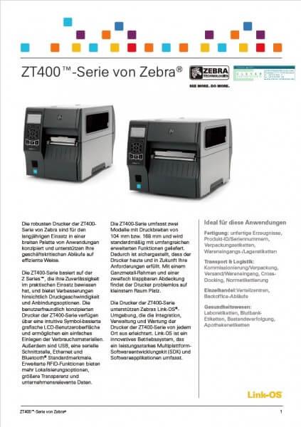 Datenblatt ZT400-Serie Vorschau
