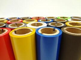 Etikettendrucker Farben