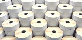 Material für Etikettendrucker