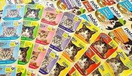 Haftetiketten für Tierfutter