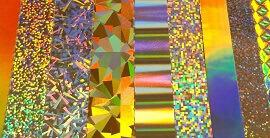 Hologrammfolien in diversen Ausführungen